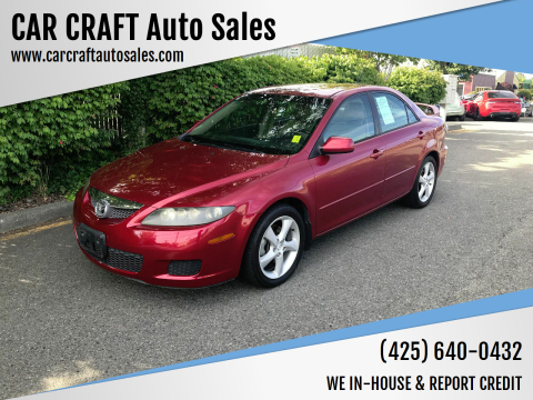 2006 Mazda MAZDA6 for sale at Car Craft Auto Sales Inc in Lynnwood WA