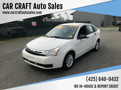 2010 Ford Focus for sale at Car Craft Auto Sales Inc in Lynnwood WA