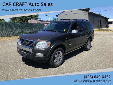 2007 Ford Explorer for sale at Car Craft Auto Sales Inc in Lynnwood WA