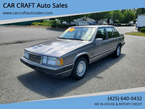 1992 Volvo 960 for sale at Car Craft Auto Sales Inc in Lynnwood WA