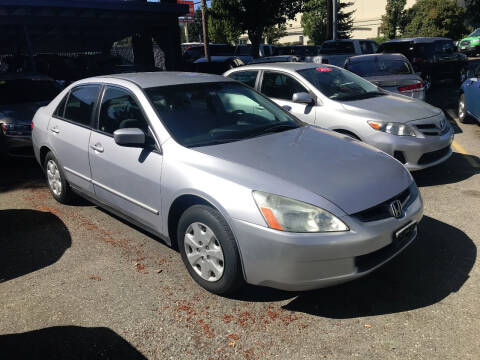 2004 Honda Accord for sale at Car Craft Auto Sales Inc in Lynnwood WA