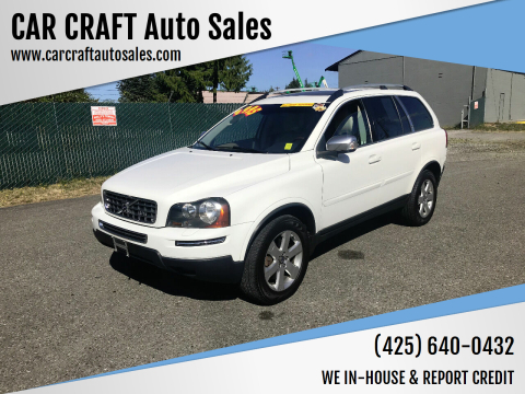 2009 Volvo XC90 for sale at Car Craft Auto Sales Inc in Lynnwood WA