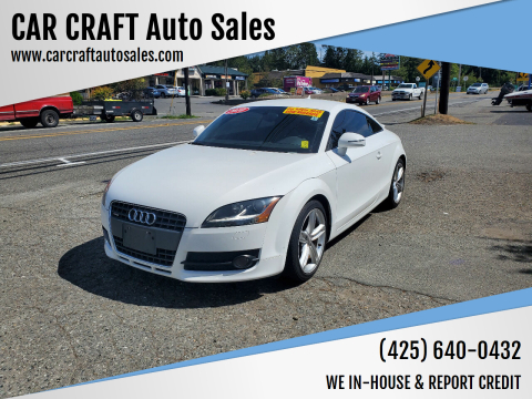 2010 Audi TT for sale at Car Craft Auto Sales Inc in Lynnwood WA