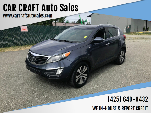 2011 Kia Sportage for sale at Car Craft Auto Sales Inc in Lynnwood WA