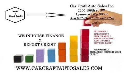 2013 Toyota Camry for sale at Car Craft Auto Sales Inc in Lynnwood WA