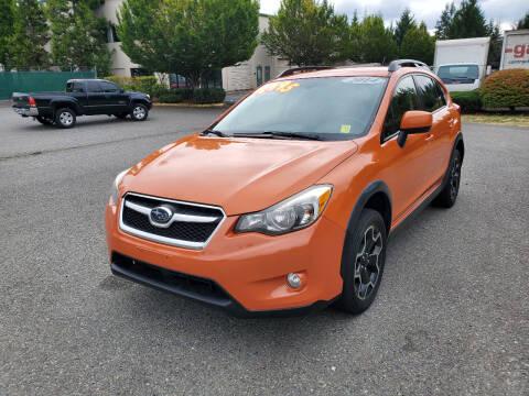 2014 Subaru XV Crosstrek for sale at Car Craft Auto Sales Inc in Lynnwood WA