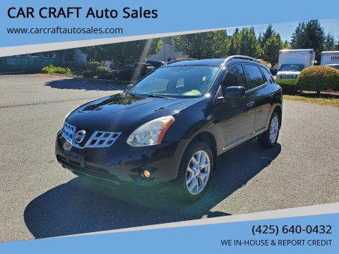 2013 Nissan Rogue for sale at Car Craft Auto Sales Inc in Lynnwood WA
