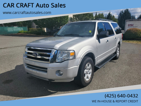 2010 Ford Expedition EL for sale at Car Craft Auto Sales Inc in Lynnwood WA
