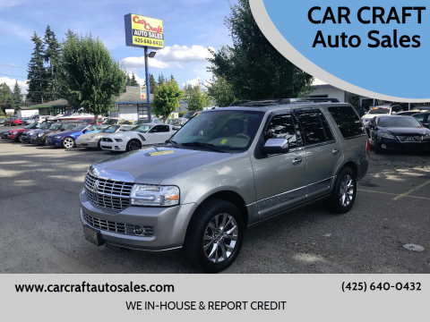 2008 Lincoln Navigator for sale at Car Craft Auto Sales Inc in Lynnwood WA