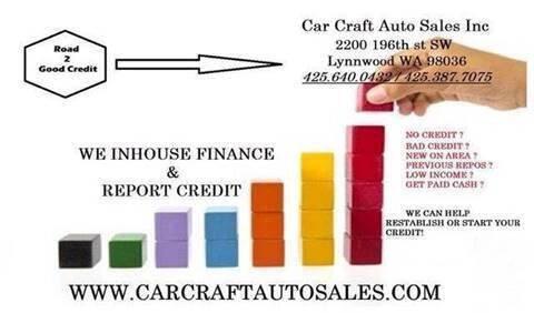 2010 Cadillac SRX for sale at Car Craft Auto Sales Inc in Lynnwood WA