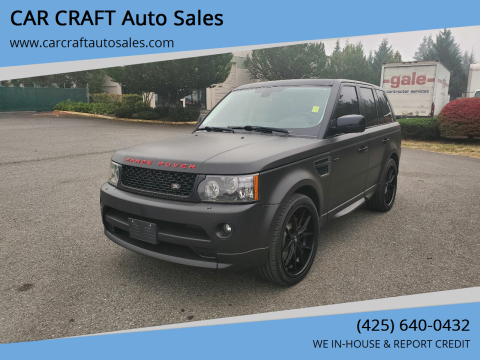 2011 Land Rover Range Rover Sport for sale at Car Craft Auto Sales Inc in Lynnwood WA