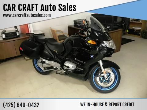 2004 BMW R1150 for sale at Car Craft Auto Sales Inc in Lynnwood WA