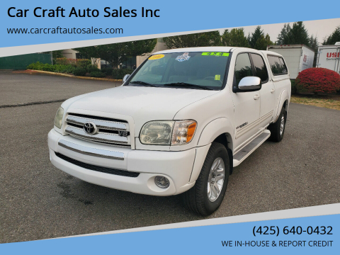 2006 Toyota Tundra for sale at Car Craft Auto Sales Inc in Lynnwood WA
