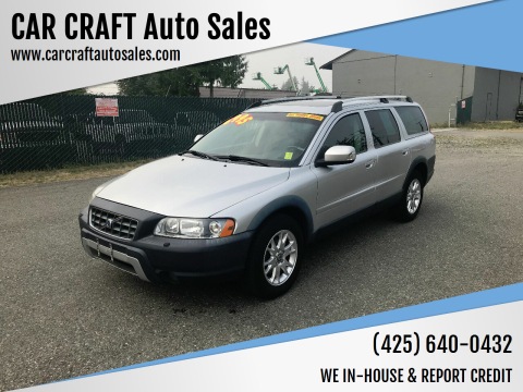 2007 Volvo XC70 for sale at Car Craft Auto Sales Inc in Lynnwood WA
