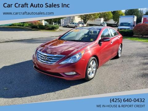 2012 Hyundai Sonata for sale at Car Craft Auto Sales Inc in Lynnwood WA