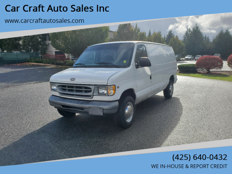1999 Ford E-250 for sale at Car Craft Auto Sales Inc in Lynnwood WA