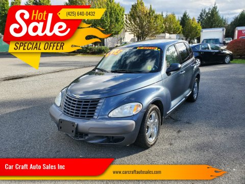 2002 Chrysler PT Cruiser for sale at Car Craft Auto Sales Inc in Lynnwood WA