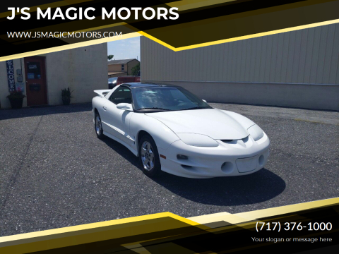 2000 Pontiac Firebird for sale at J'S MAGIC MOTORS in Lebanon PA