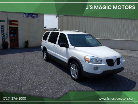 2005 Pontiac Montana SV6 for sale at J'S MAGIC MOTORS in Lebanon PA