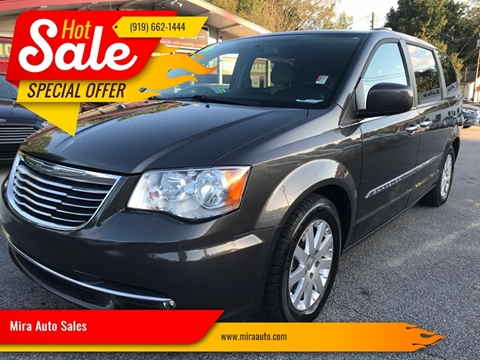 2016 Chrysler Town and Country for sale at Mira Auto Sales in Raleigh NC
