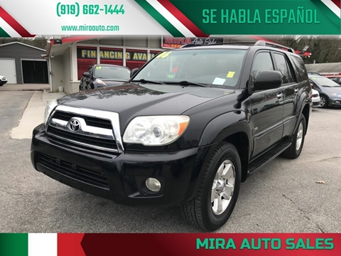 2006 Toyota 4Runner for sale at Mira Auto Sales in Raleigh NC