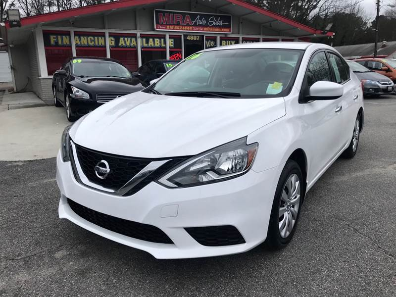 2016 Nissan Sentra for sale at Mira Auto Sales in Raleigh NC
