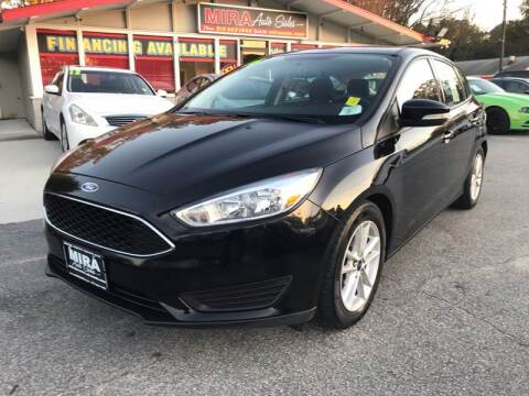 2016 Ford Focus for sale at Mira Auto Sales in Raleigh NC