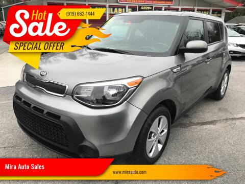 2016 Kia Soul for sale at Mira Auto Sales in Raleigh NC