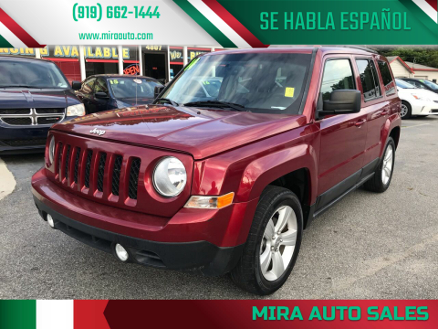 2014 Jeep Patriot for sale at Mira Auto Sales in Raleigh NC