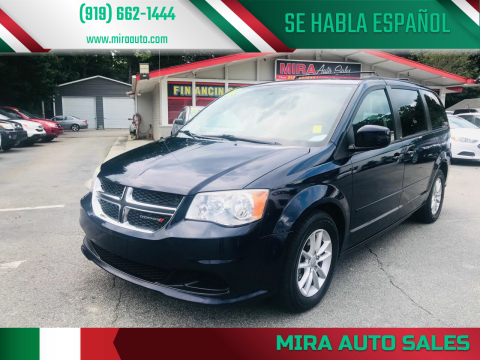 2013 Dodge Grand Caravan for sale at Mira Auto Sales in Raleigh NC