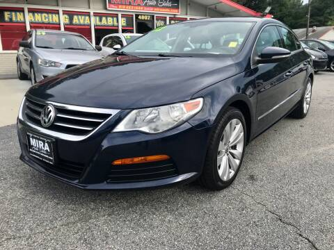2012 Volkswagen CC for sale at Mira Auto Sales in Raleigh NC