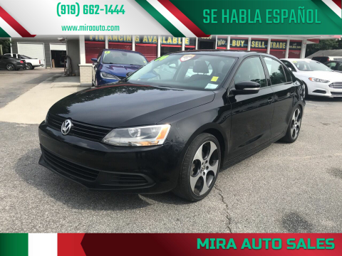 2014 Volkswagen Jetta for sale at Mira Auto Sales in Raleigh NC