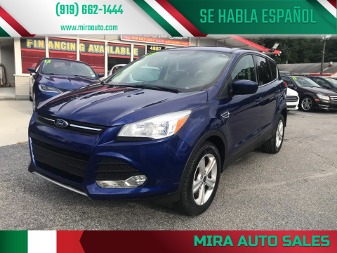 2014 Ford Escape for sale at Mira Auto Sales in Raleigh NC