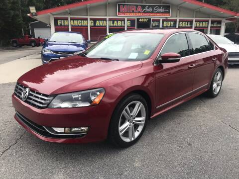 2015 Volkswagen Passat for sale at Mira Auto Sales in Raleigh NC