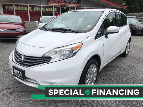 2016 Nissan Versa Note for sale at Mira Auto Sales in Raleigh NC