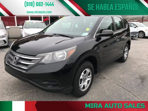 2013 Honda CR-V for sale at Mira Auto Sales in Raleigh NC