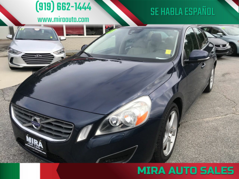 2013 Volvo S60 for sale at Mira Auto Sales in Raleigh NC