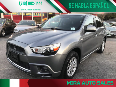 2012 Mitsubishi Outlander Sport for sale at Mira Auto Sales in Raleigh NC