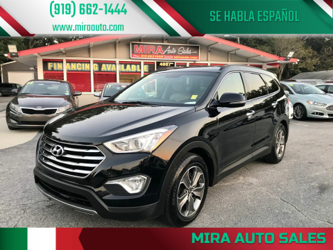 2013 Hyundai Santa Fe for sale at Mira Auto Sales in Raleigh NC