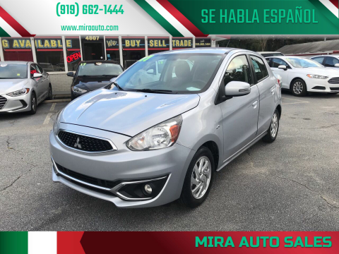 2017 Mitsubishi Mirage for sale at Mira Auto Sales in Raleigh NC