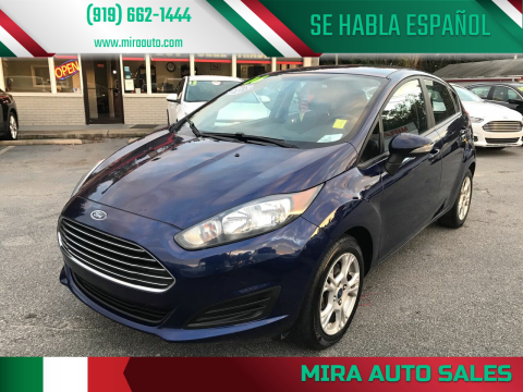 2016 Ford Fiesta for sale at Mira Auto Sales in Raleigh NC