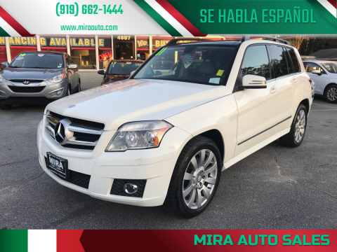 2011 Mercedes-Benz GLK for sale at Mira Auto Sales in Raleigh NC
