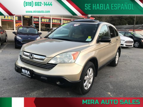 2008 Honda CR-V for sale at Mira Auto Sales in Raleigh NC