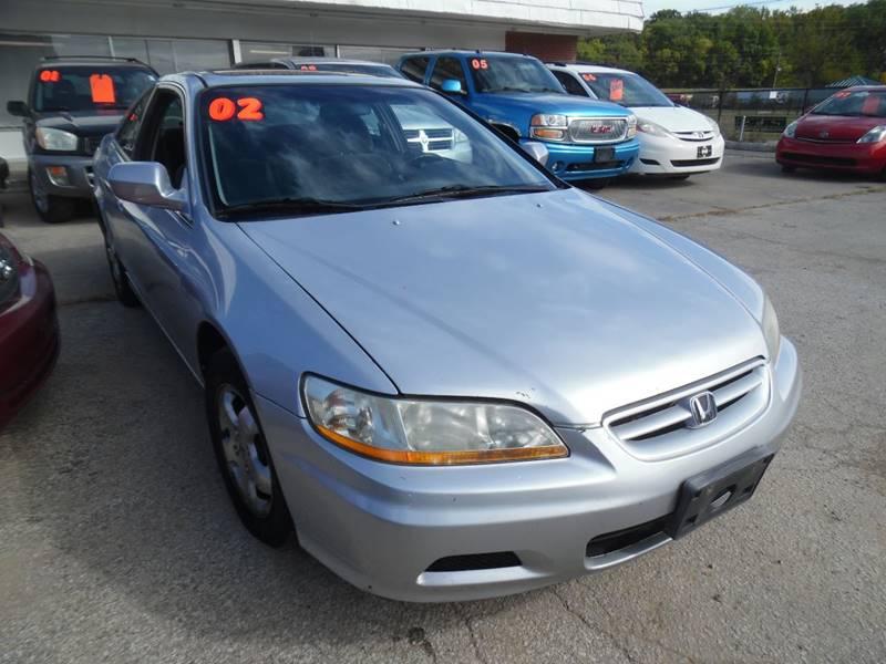 2002 Honda Accord EX 2dr Coupe   Kansas City MO