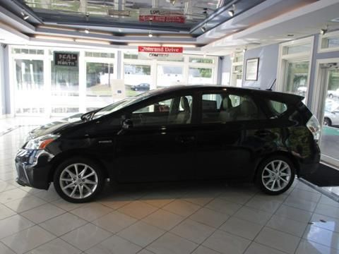 2013 Toyota Prius v for sale in Vernon Rockville, CT