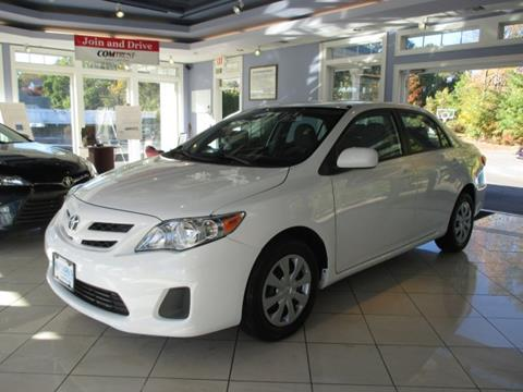 2011 Toyota Corolla for sale in Vernon Rockville, CT