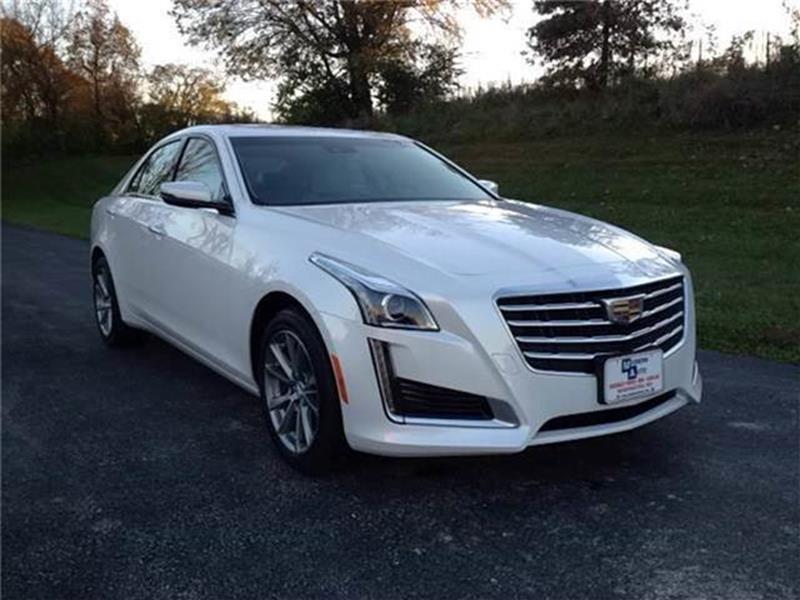 2017 Cadillac Cts Awd 2 0t Luxury 4dr Sedan In Washington