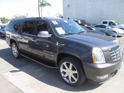 2011 Cadillac Escalade ESV for sale in La Puente, CA