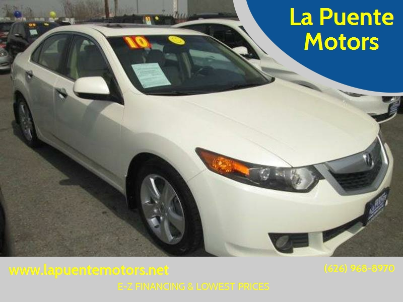 2010 Acura TSX Tech 5A Technology Package