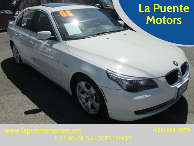 2008 BMW 5 Series 528i Luxury